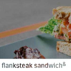 Flanksteak sandwich malcolm & judy
